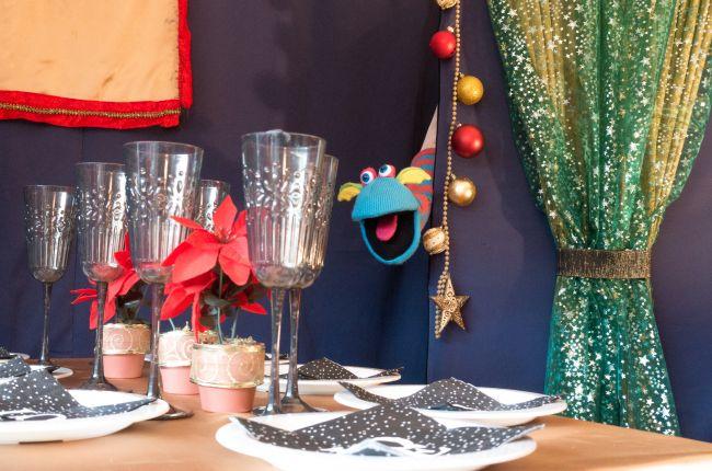 Welkom op het kerstfeest!