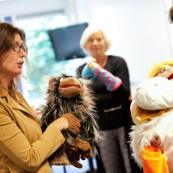 Workshop werken met poppen