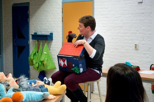 Workshop werken met poppen 7