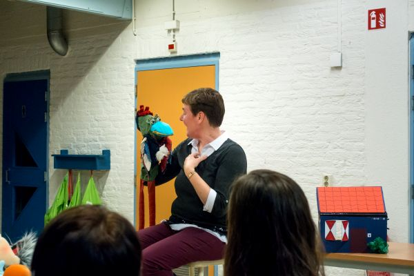 Workshop werken met poppen 8